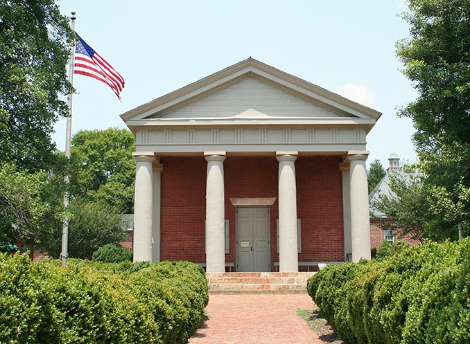 American courthouse